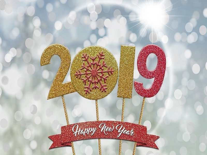 Happy New Year 2019 Images, Cards, GIFs, Wishes, Messages